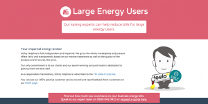 Large Energy  Users