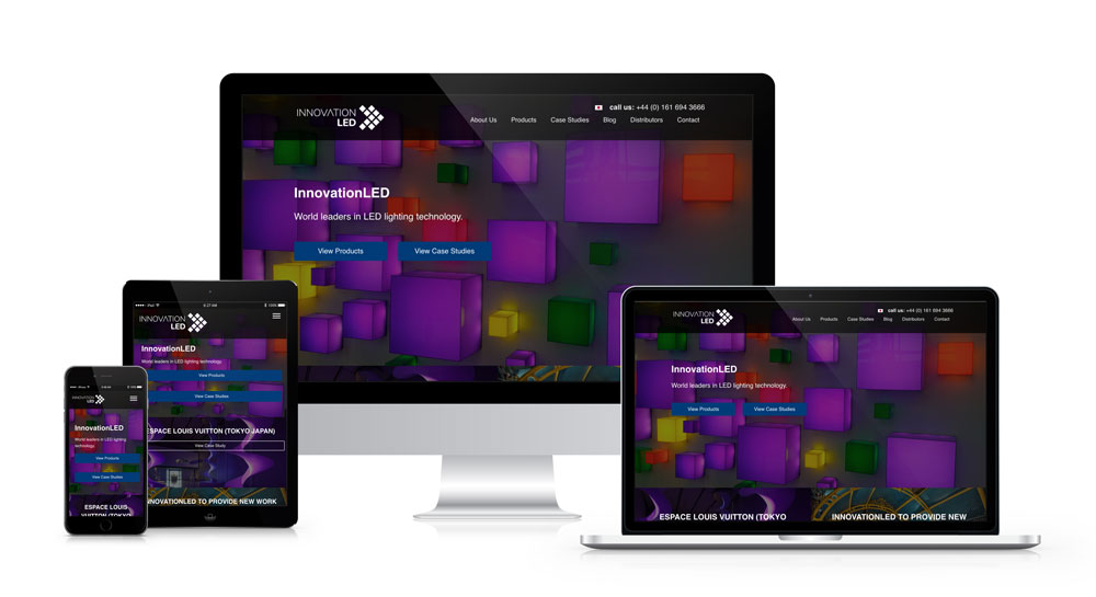 Innovation LED WordPress website with international SEO - by The Artlab, SEO and Web Development agency in Trafford Park